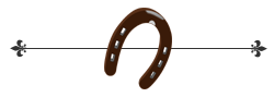 horseshoe footer