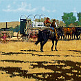 The Grub Wagon oil painting